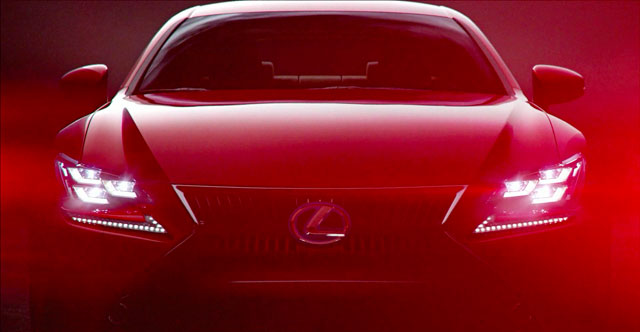 Lexus RC Launch Video
