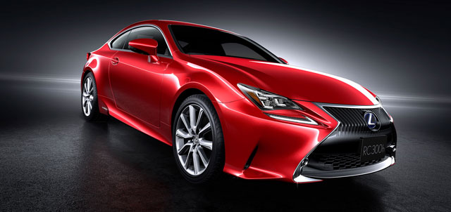 Lexus RC Full Red