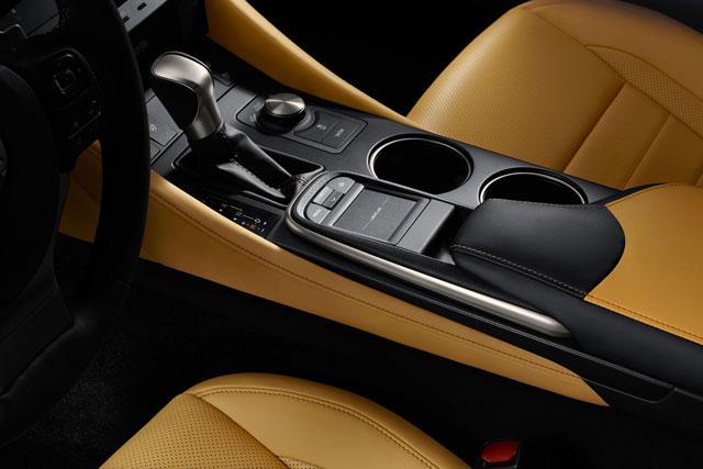 2014 Lexus RC Interior