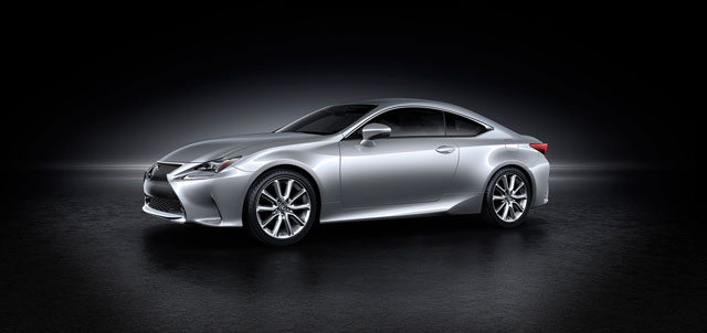 Lexus RC Silver Side