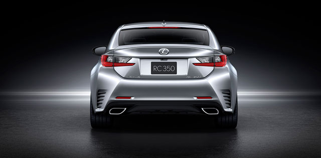 Lexus RC in Silver