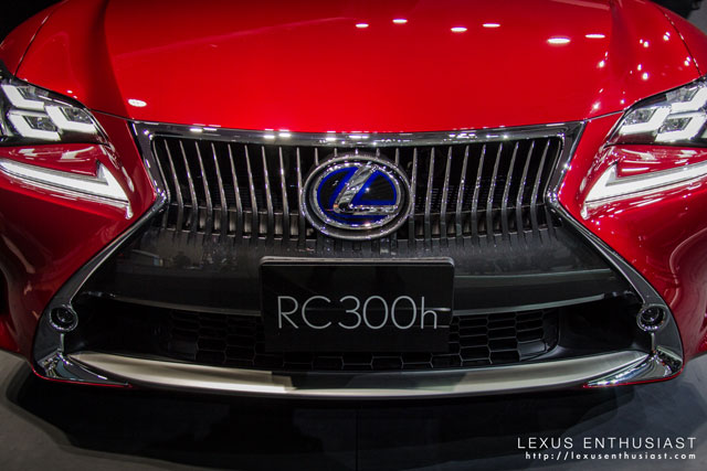 Lexus RC Tokyo Grille