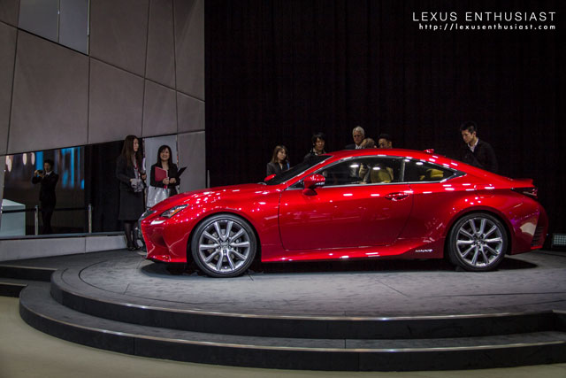 Lexus RC Coupe Side