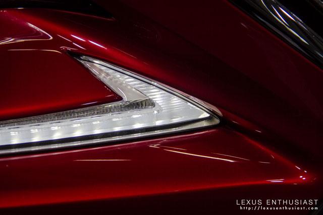 Lexus RC Tokyo Foglight