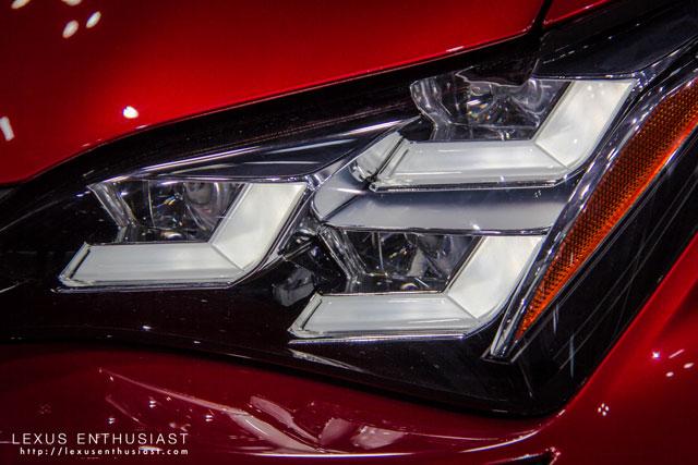 Lexus RC Tokyo Headlight 2