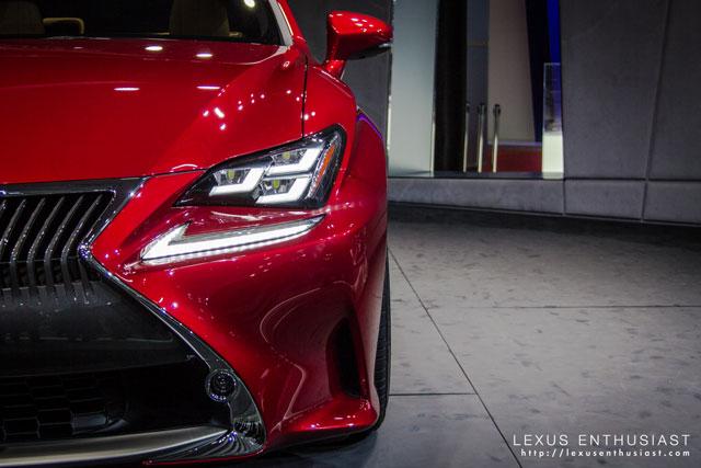 Lexus RC Tokyo Headlight
