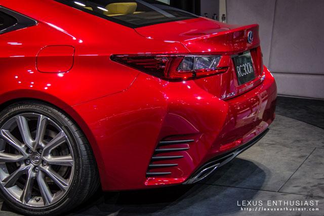 Lexus RC Tokyo Slats