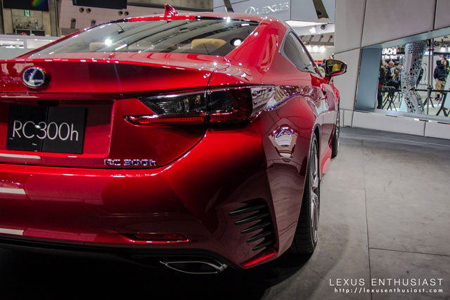 Lexus RC Tokyo Angle