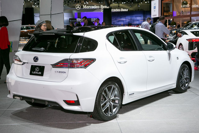 2014 Lexus CT 200h Rear