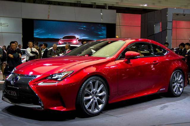 Lexus RC 300h Coupe at the Tokyo Motor Show