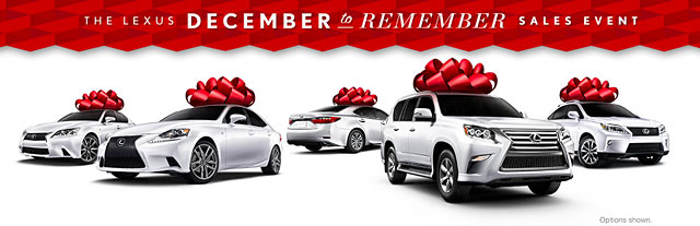 Lexus December to Remember Sales