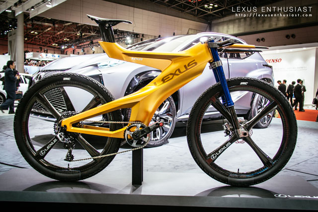 Lexus NXB Mountain Bike Concept