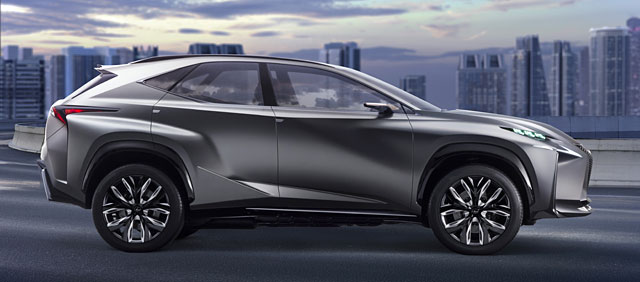 Lexus LF-NX Production