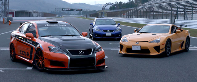 Lexus LFA & IS F CCS-R