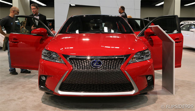 Lexus CT 200h in Redline Exterior Color