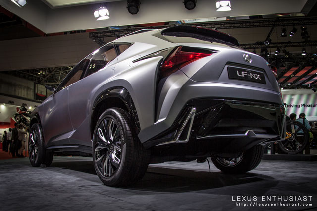 Lexus LF-NX Rear Taillights