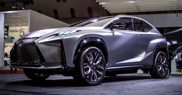 Lexus LF-NX Hero Image