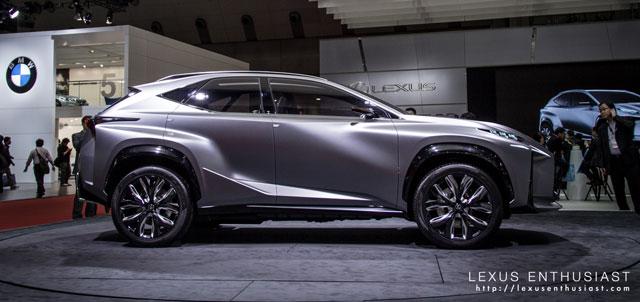 Lexus LF-NX Side Profile
