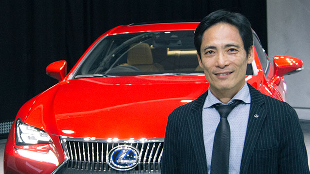 Interview with Lexus RC Chief Engineer Junichi Furuyama