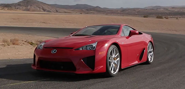 Lexus LFA with Justin Bell