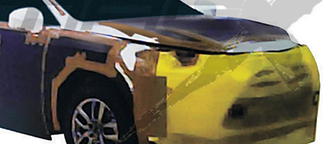 Lexus NX Hero Spy Shot