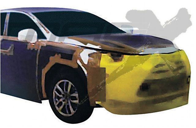 Lexus NX Spy Shot Front