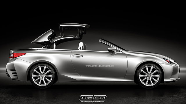Lexus RC Convertible by X-Tomi