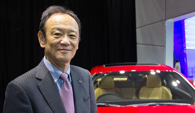 Lexus President Kyotaka Ise
