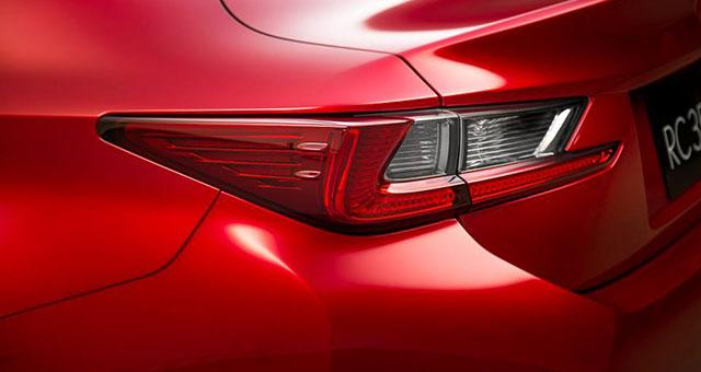 Lexus RC Up Close