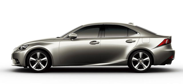 Lexus IS in Atomic Silver