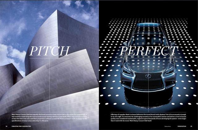 Lexus The Line Pitch