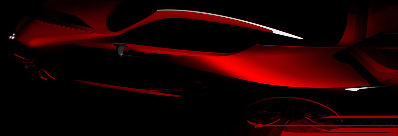 Lexus LF-LC Concept original teaser