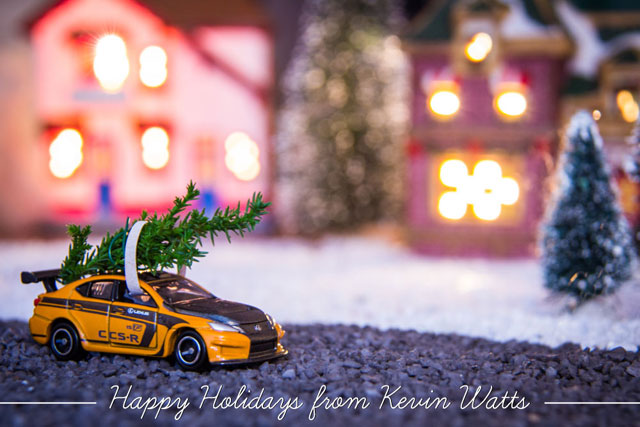 Lexus Enthusiast Christmas Card 2013