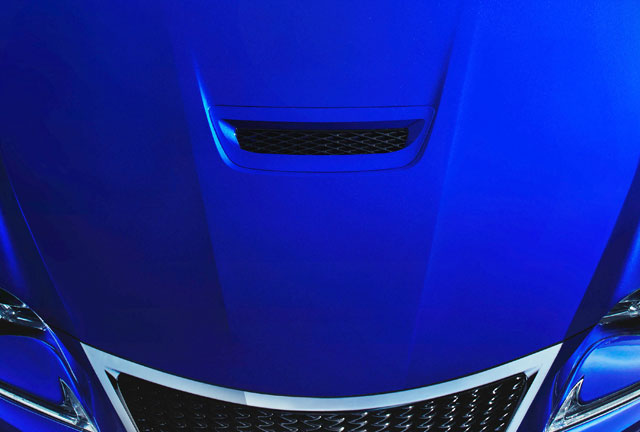 Lexus RC F Second Teaser