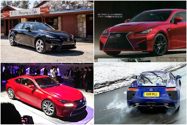 Lexus Top Ten
