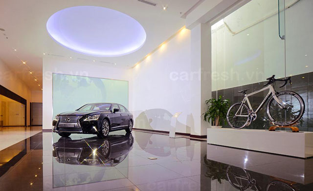 Lexus Saigon Dealership Vietnam