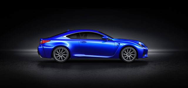Lexus RC F Side Profile