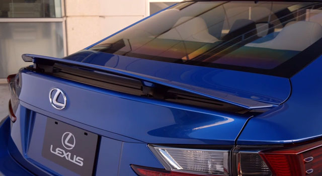 Lexus RC F Rear Spoiler