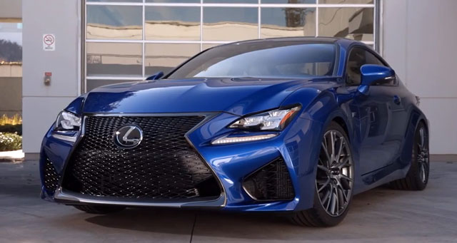 Lexus RC F Video