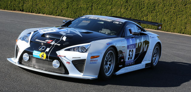 Lexus LFA Code X Front