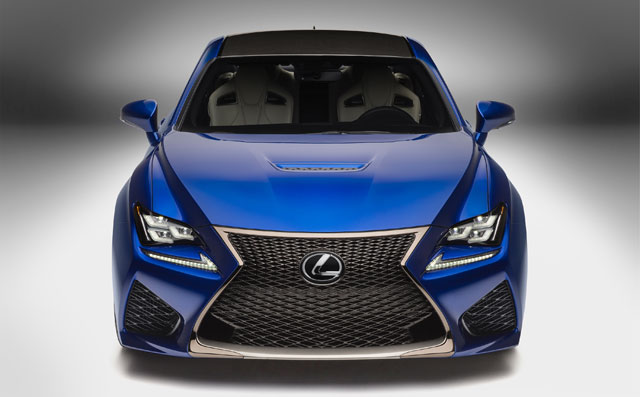 Lexus RC F Massive Photo Gallery