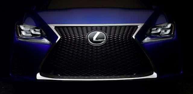 Lexus RC F Reveal Video