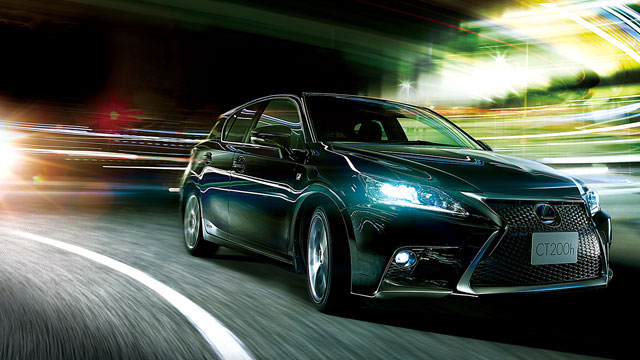 Lexus CT 200h Japan