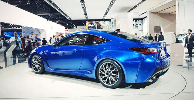 Lexus RC F Detroit Auto Show