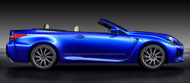 2016 Lexus Sc >> Lexus RC F Convertible