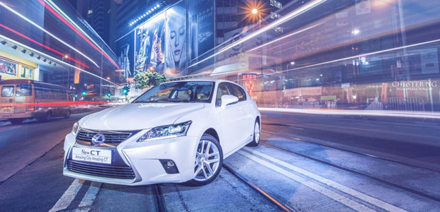 Lexus CT 200h Hong Kong