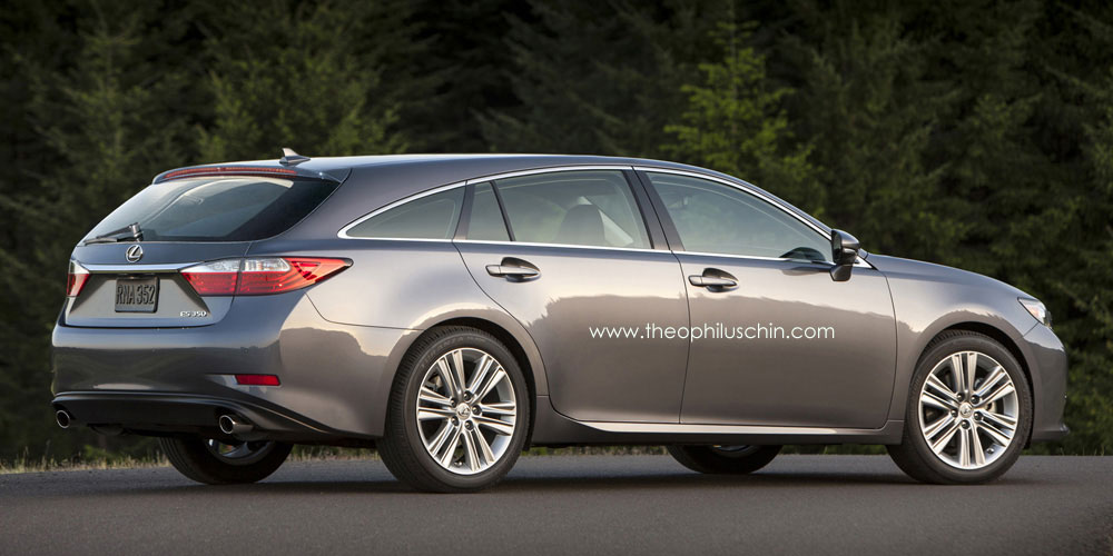 Imagining The Lexus Es Shooting Brake Lexus Enthusiast