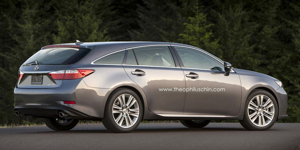 Lexus Gs Wagon >> Lexus ES Shooting Brake