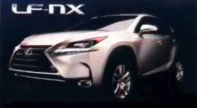 Production Lexus NX