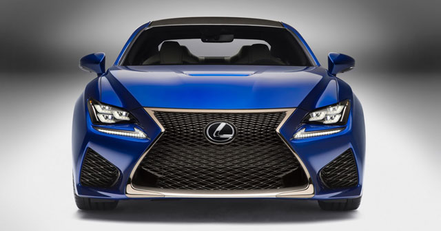 Lexus RC F Spindle Grille